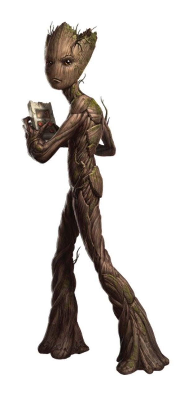 Avengers Infinity War Promo Art - Teenage Groot