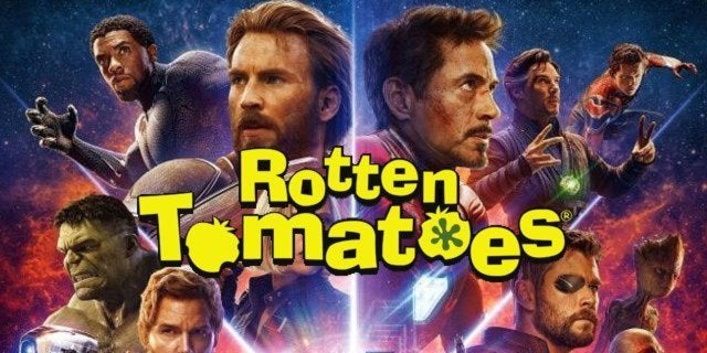 avengers infinity war rotten tomatoes score