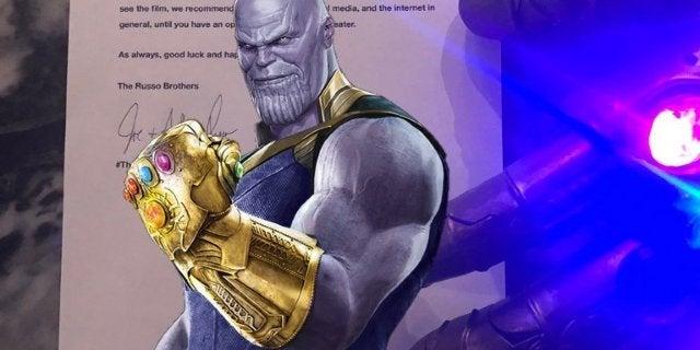 Avengers Infinity War Russos Spoiler Warning