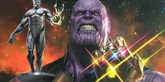 Avengers Infinity War Silver Surfer Russo Bros