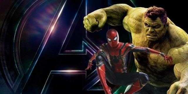 Avengers Infinity War Spider-Man Hulk comicbookcom