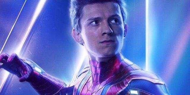 Avengers-Infinity-War-Spider-Man-Poster