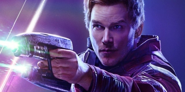 avengers infinity war star lord