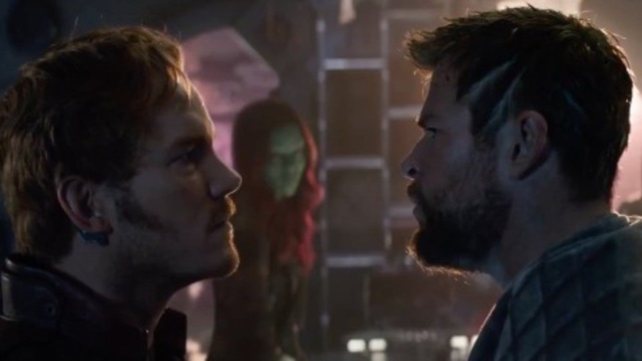 star-lord mocks thor in new 'avengers: infinity war' tv spot