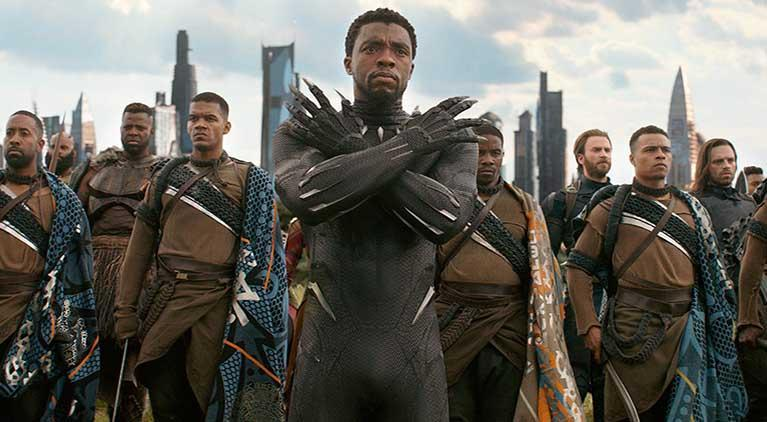 avengers infinity war wakandan chant black panther