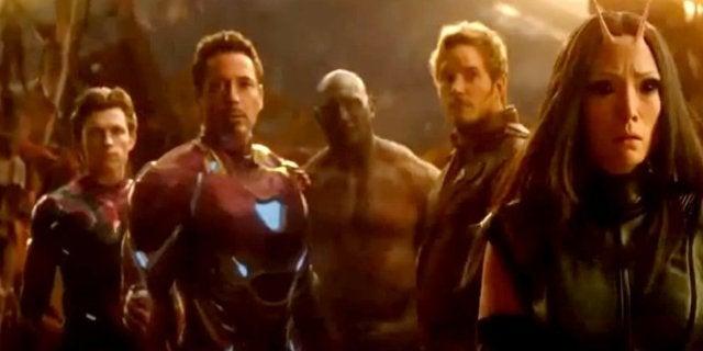 Avengers ininity War TV Spot