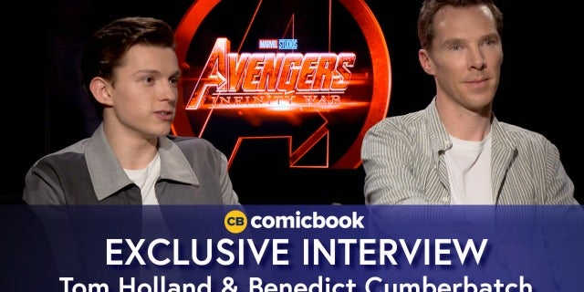 Benedict Cumberbatch and Tom Holland Talk Avengers: Infinity War screen capture