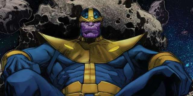 Best Thanos Comics - Cover