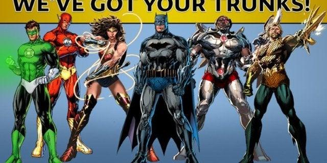 DC Comics Trunks April Fools