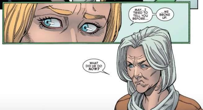 Death Amazing Spider-Man 800 - Aunt May