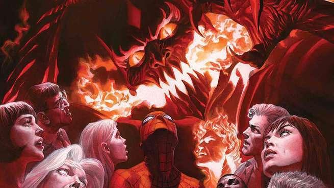 Death Amazing Spider-Man 800 - Cover