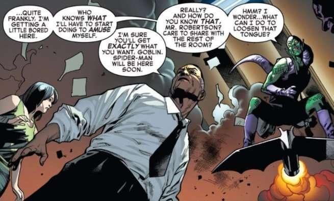 Death Amazing Spider-Man 800 - Robbie Robertson