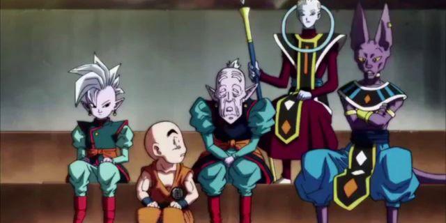 Dragon Ball Super Manga Tournament Power Elimination Order