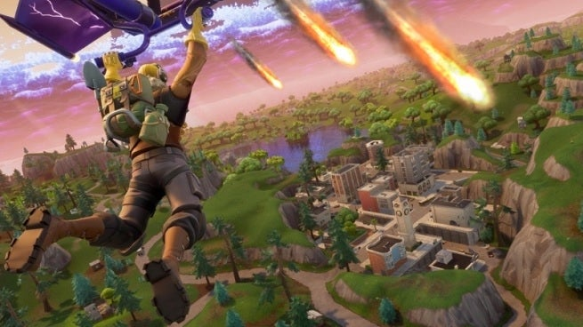 Fortnite Players Are Convinced a Comet Will Change the Battle Royale Map