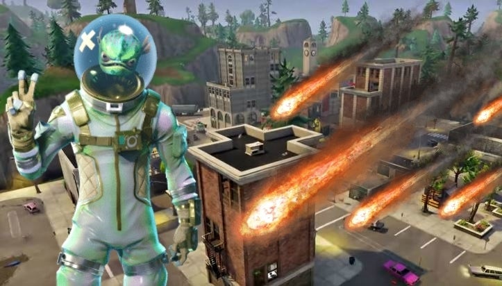 fortnite meteor hilarious discovery reveals epic trolling from epic