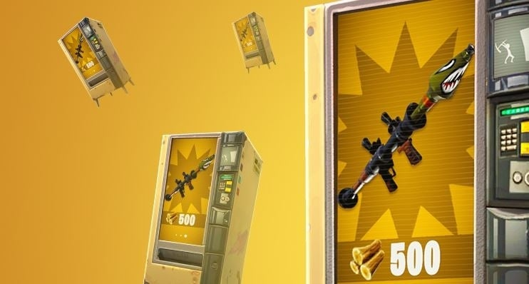 Fortnite Where To Find The Vending Machines