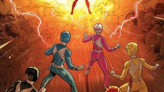 Go Go Power Rangers #9 Preview