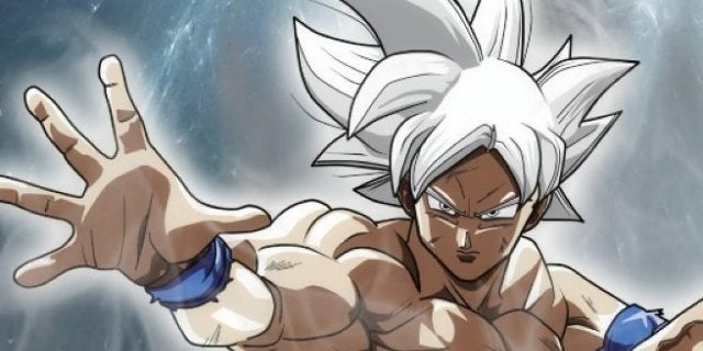 Goku Ultra Instinct Toy Figure