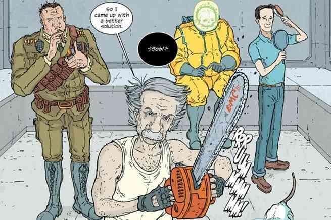 Hickman Comics for TV - Manhattan Projects