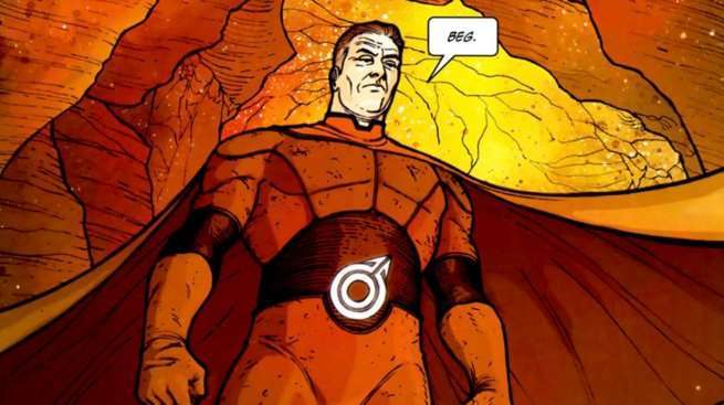 Hickman Comics for TV - Red Mass For Mars