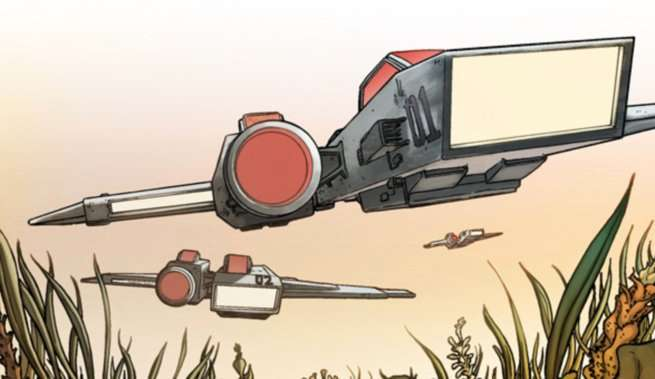 Hickman Comics for TV - The Red Wing