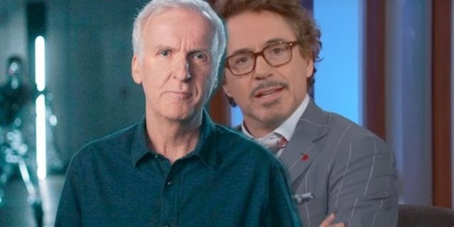 James Cameron Robert Downey Jr