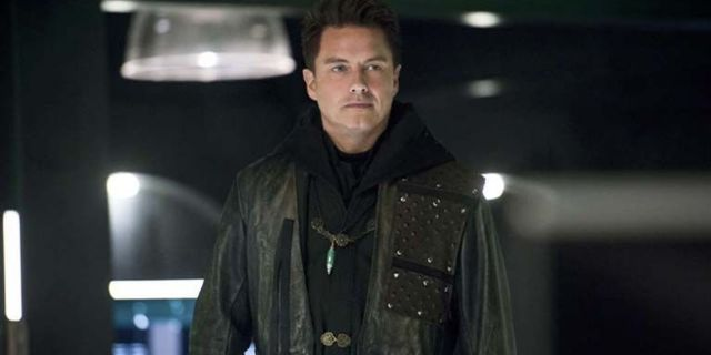 john barrowman arrow target homeless man