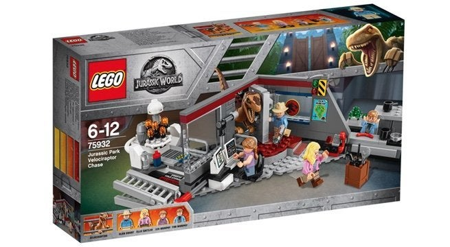 the jurassic park 25th anniversary lego set is almost here