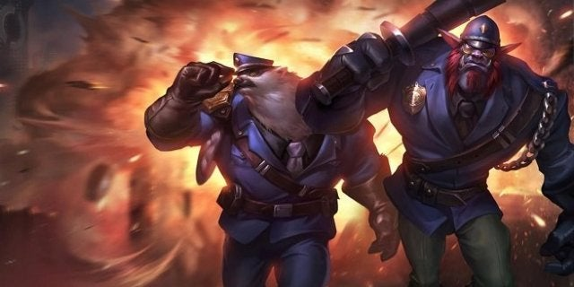 League of Legends Trundle Volibear