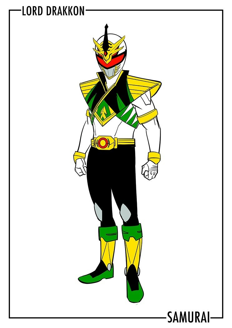 Lord-Drakkon-Samurai-Costume-Design  sc 1 st  Comic Book & Power Rangers: Full Look At Lord Drakkonu0027s Upgraded Costume