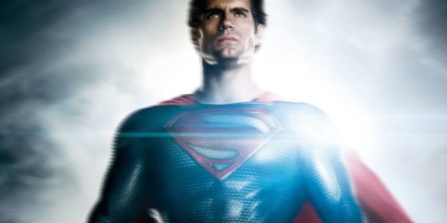 Man of Steel Superman Cavill'