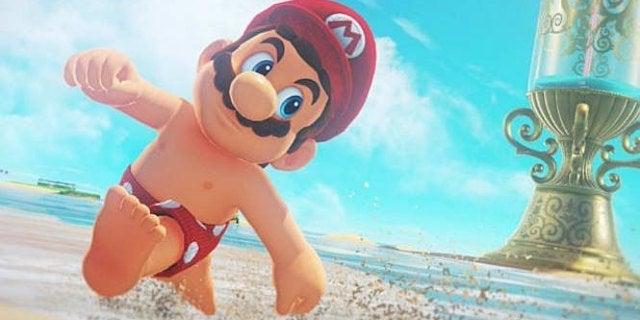 Mario Odyssey Title