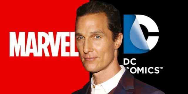 Matthew McConaughey Marvel DC comicbookcom