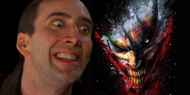 Nice Cage Joker Movie