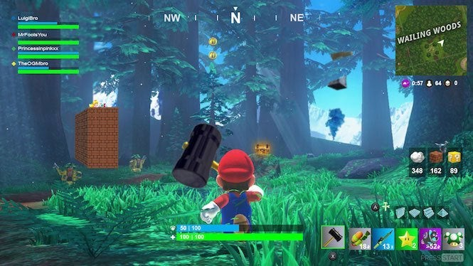 This nintendo switch fortnite story may have just won april fools day nintendo fortnite 3 stopboris Images