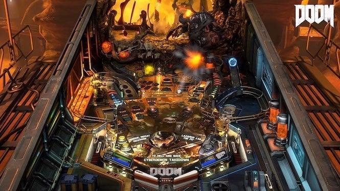 Doom, Skyrim Pinball Tables Now Available For Pinball FX3 On