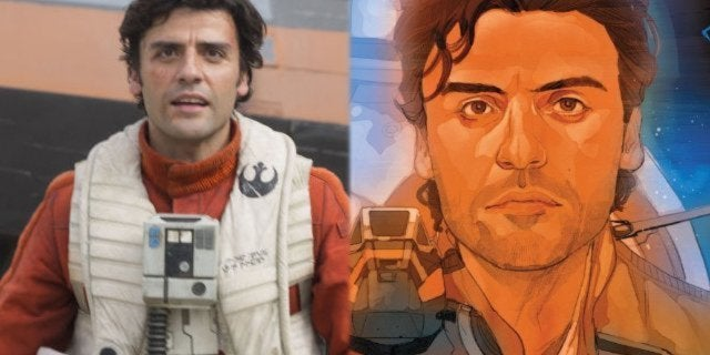 poe dameron comic the force awakens star wars