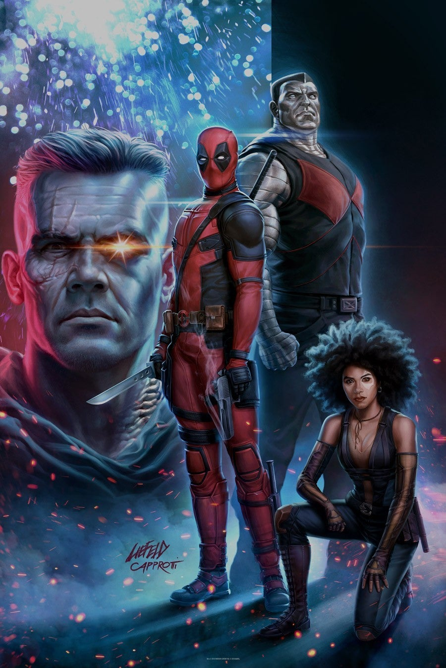 Deadpool 2 Rob Liefeld Draws New Movie Poster