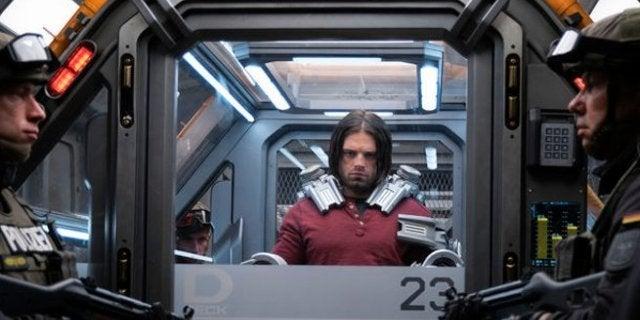 Sebasian Stan Reacts to Seeing Winter Soldier Prisoner Chair