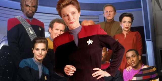 Star Trek Deep Space Nine Janeway