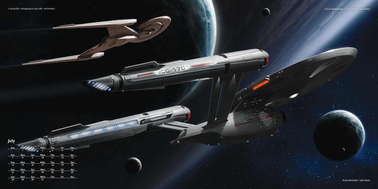 Star Trek Discovery New Look At Enterprise Redesign
