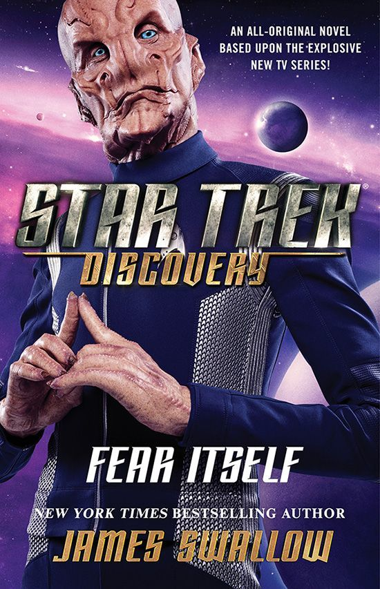 Star Trek Discovery Fear Itself Cover