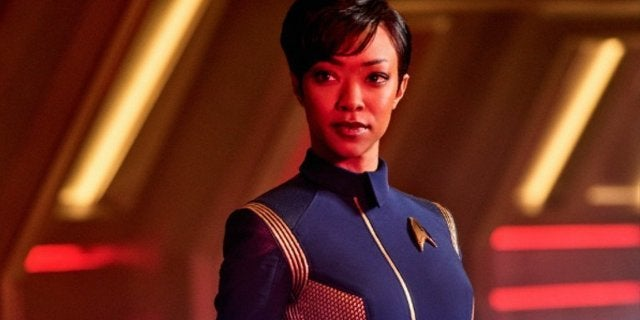 Star Trek Discovery Michael Burnham Sonequa Martin-Green
