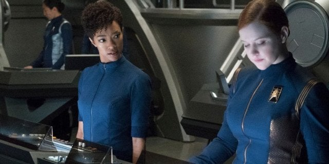 Star Trek Discovery Same Sex Romance
