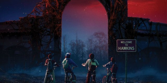 stranger things universal studios header