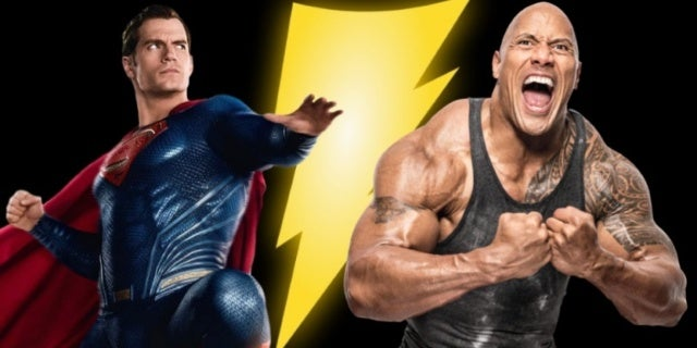 Superman Black Adam Dwayne Johnson ComicBookcom
