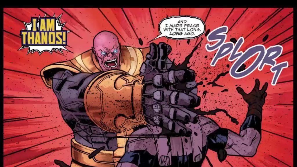 Thanos Captain America