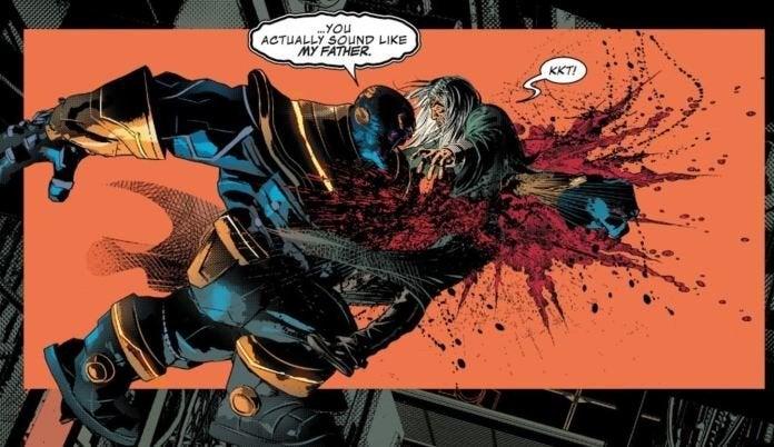 Thanos Kills Father