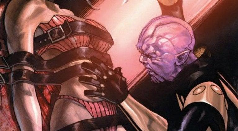 Thanos kills mother