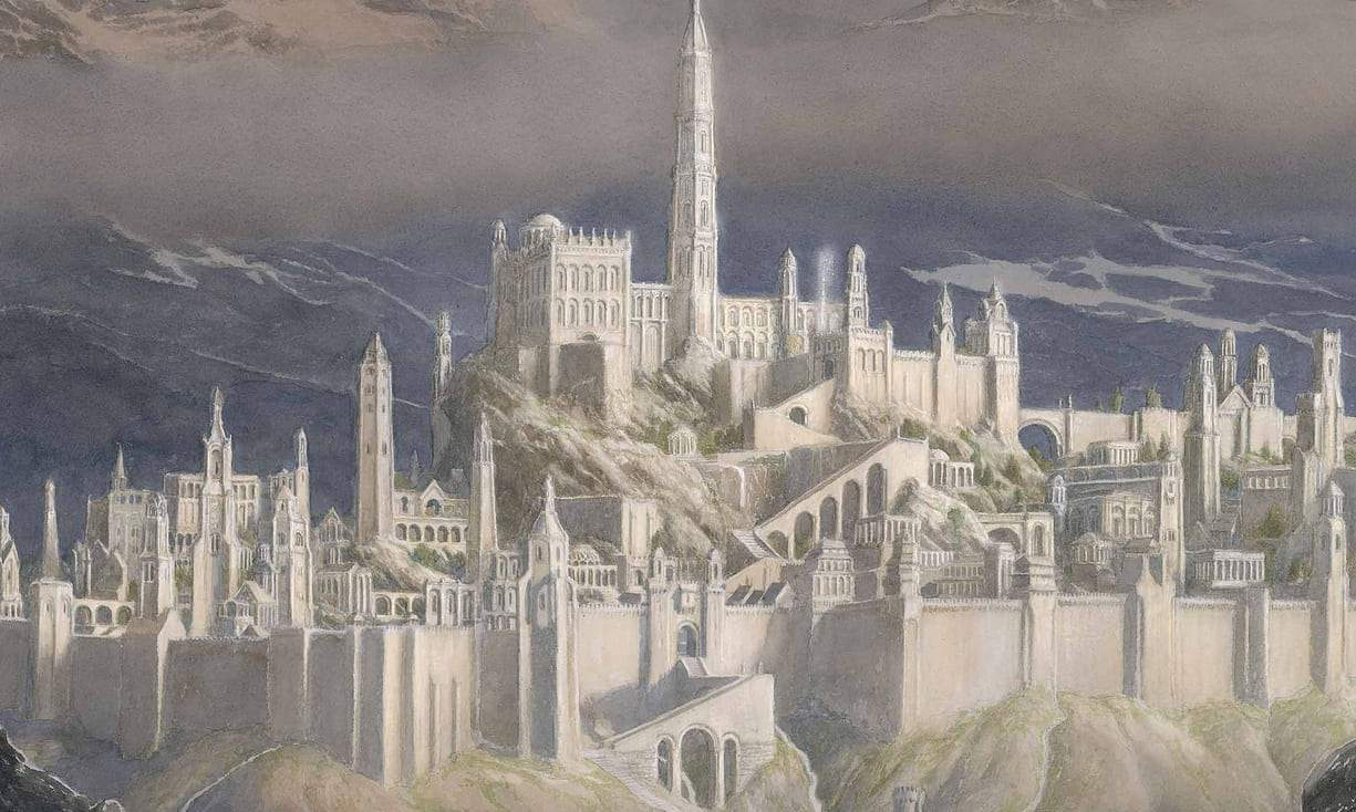The Fall of Gondolin to Be JRR Tolkien's Next Posthumous Book